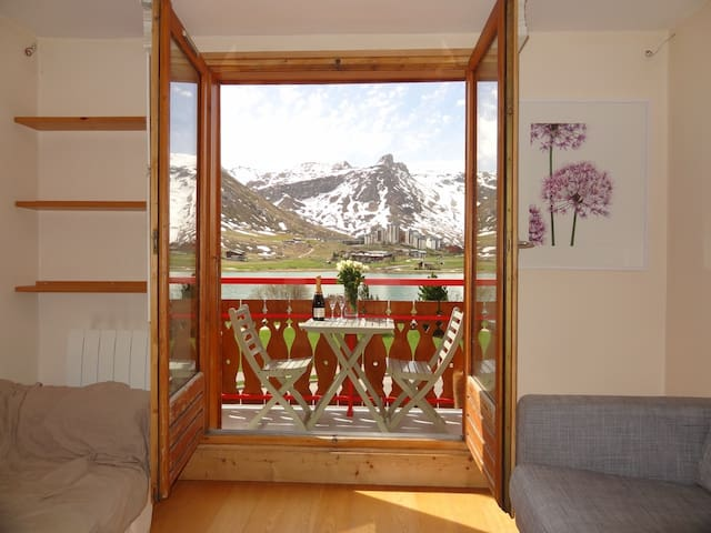 Beautiful 2 Bedroom Apt, Tignes - Tignes - Apartamento