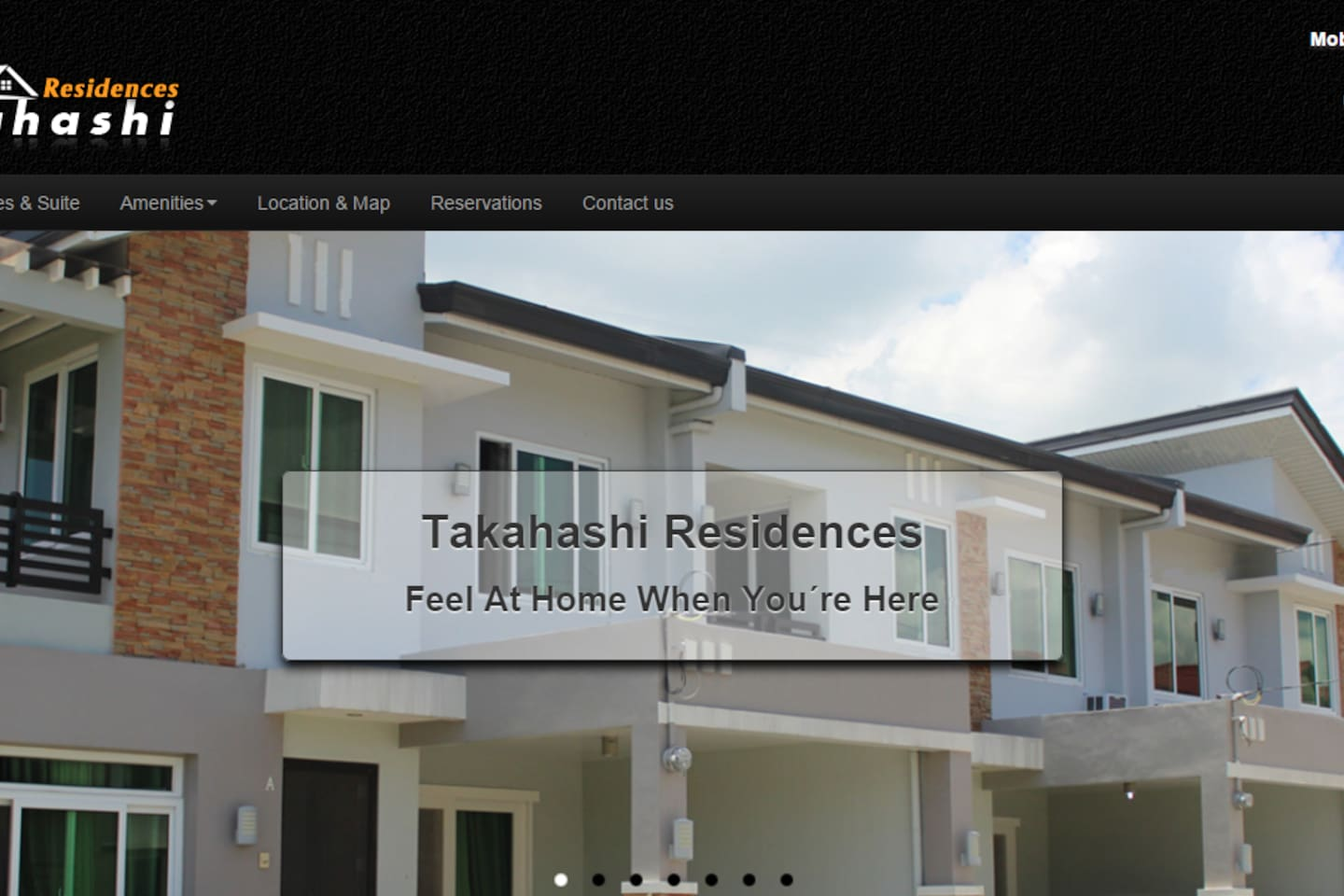 There are 7 new, fully furnished townhouses.  Exterior.