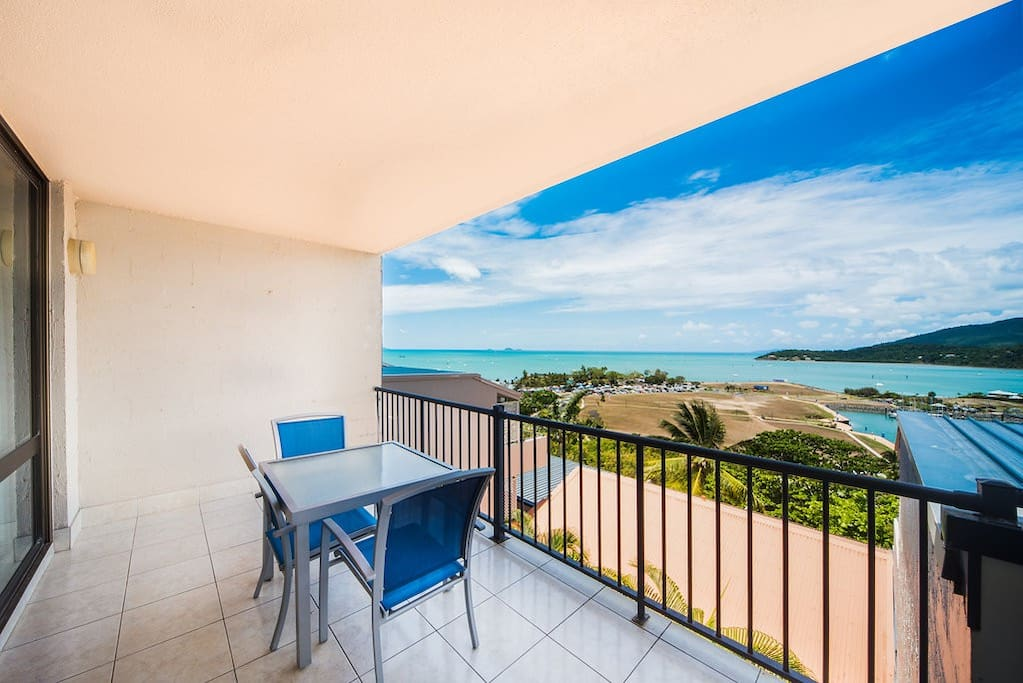 2nd Private balcony