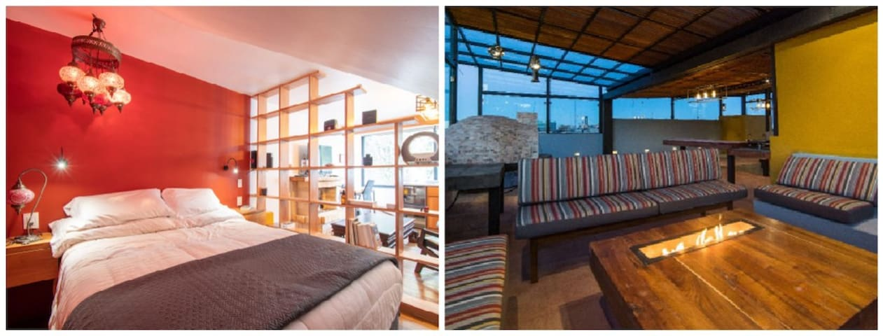 Cozy Suite at the Heart of San Angel