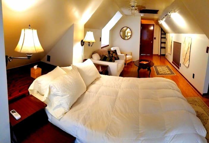 Bedroom in Balcony Suite