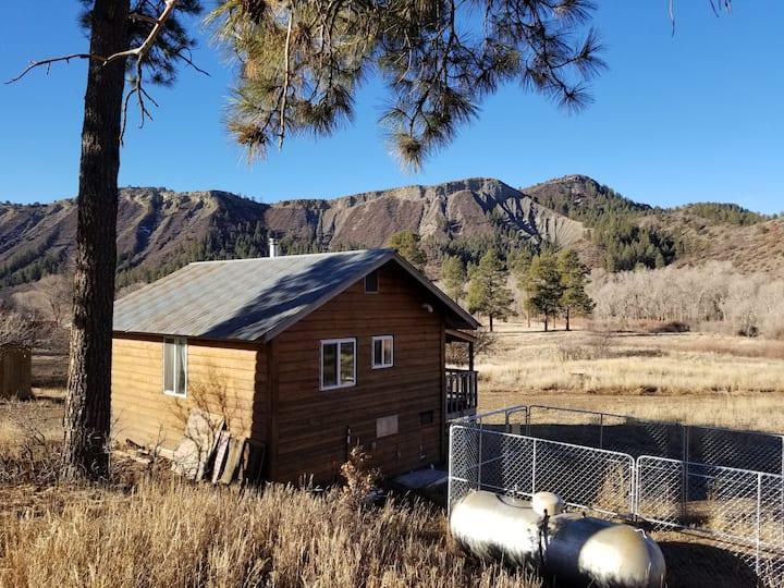 Colorado Dream One Room Cabin on a River!