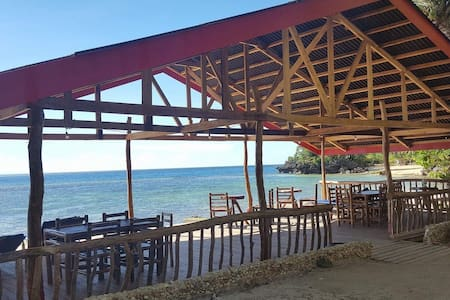 White Beachfront & Cottages -Hinugtan Beach rooms