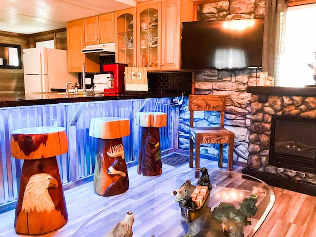 •Fully Gated Vacation Resort Cabin on 20+acres!