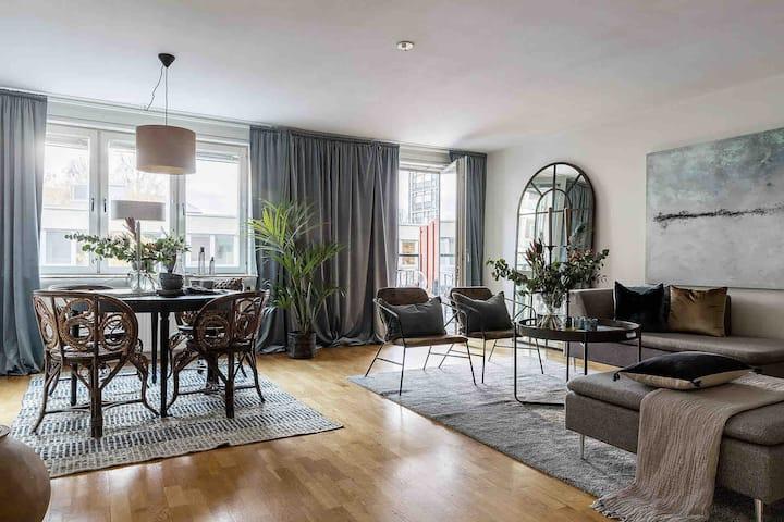 Big apartment in Stockholm city Kungsholmen
