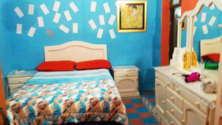 Por centro C/Baño privado, entrada Independiente