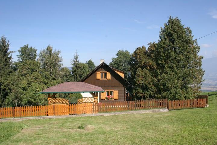 Klassisches Ferienhaus in Sankt Andra nahe dem Skigebiet