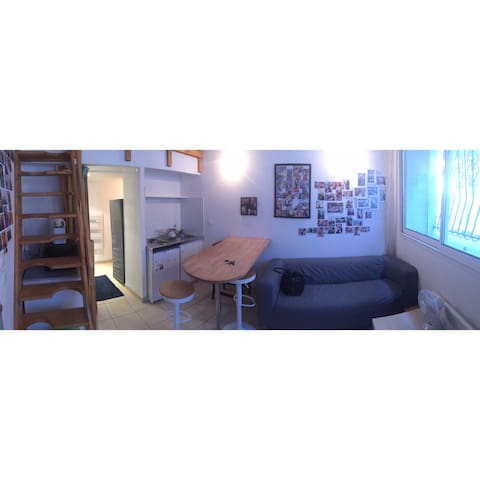 Studio 20 m2 centre ville de Béziers - Béziers - Byt