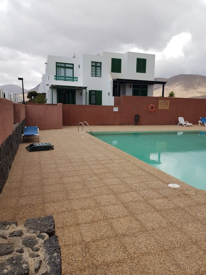 Playa Blanca house with a view