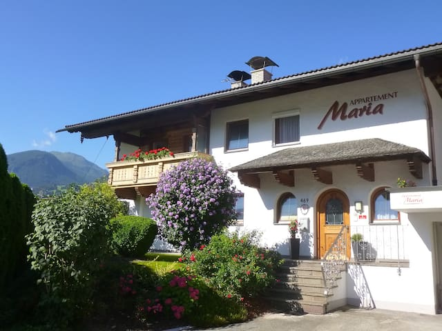 Schöne Ferienwohnung in zentraler Lage mit Sauna - Fügen - 아파트
