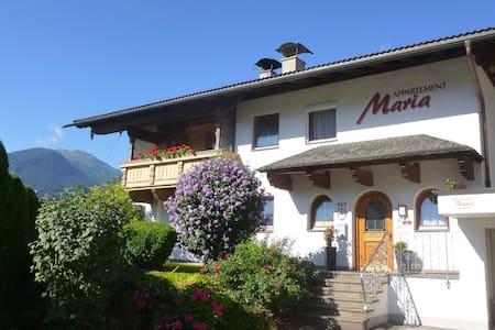 Schöne Ferienwohnung in zentraler Lage mit Sauna - Fügen - Appartement