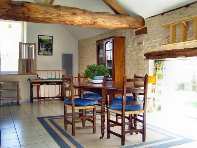Bergerie, Meublé tourisme 3 étoiles, pleine nature - Lantenay - Casa
