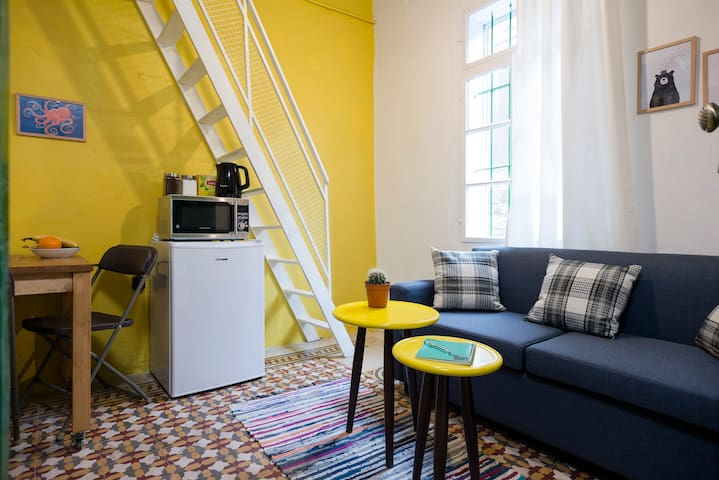 Loft in Mar Mikhael with Free Bikes Available!