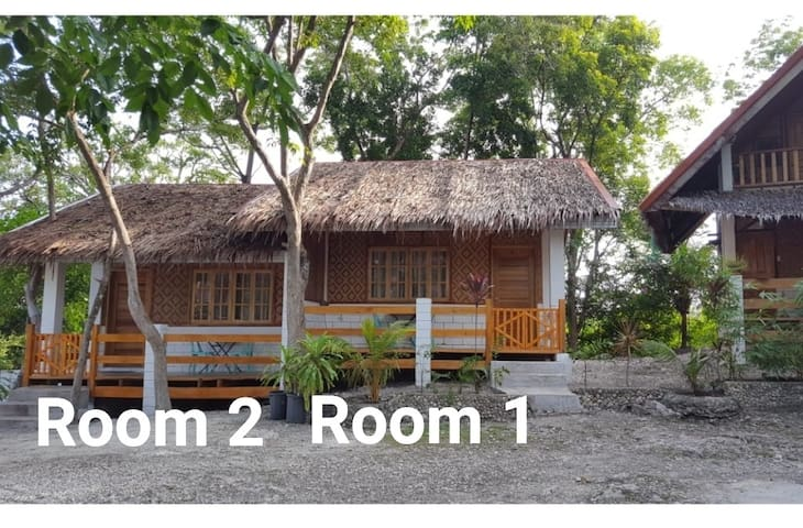 Sambag Hideaway Room (#1 and # 2) About 2 minutes walk to the beach