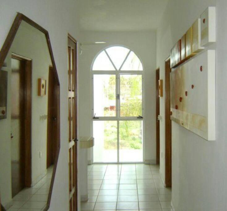 Entrance to Casa Holistica Sol