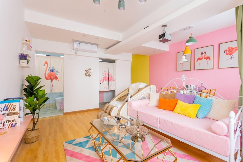 客厅-温馨舒适的环境