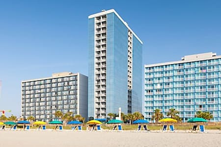 Oceanfront Myrtle Beach villa (1 BD Deluxe) - Myrtle Beach