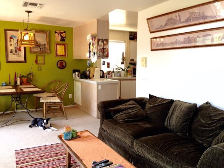 Cozy, sunny, pet friendly loft/apt