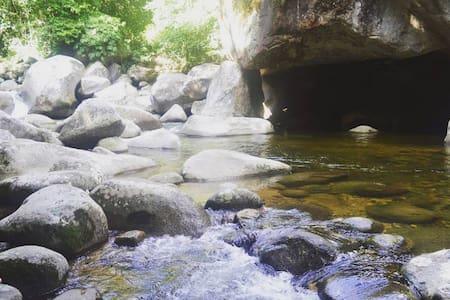 Sítio Doce Mel na Serra de Teresópolis.