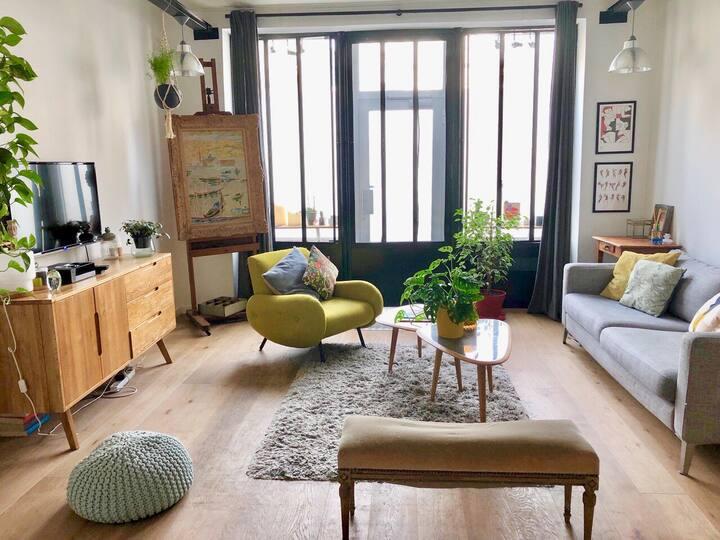 Appartement Loft de charme à Puteaux