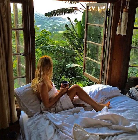 Breathtaking View - the Den of the Treehouse.