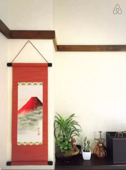 日式小饰品红富士