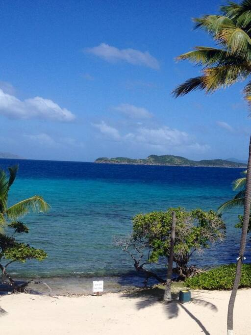 Gorgeous views of British Virgin Islands