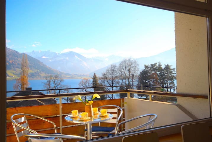 Appartement Seeblick - modern apartment in city centre with balcony, close to cable car, slopes & la