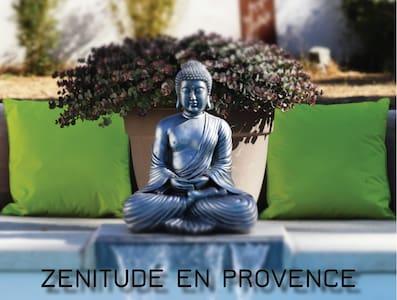 Zenitude en Provence,Gite de Charme, Studio 34 m2