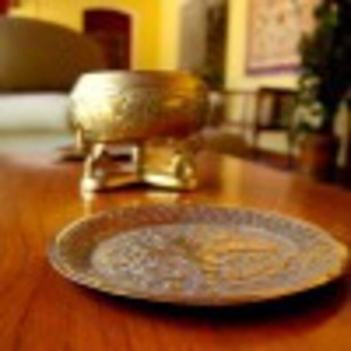 Traditional Brassware