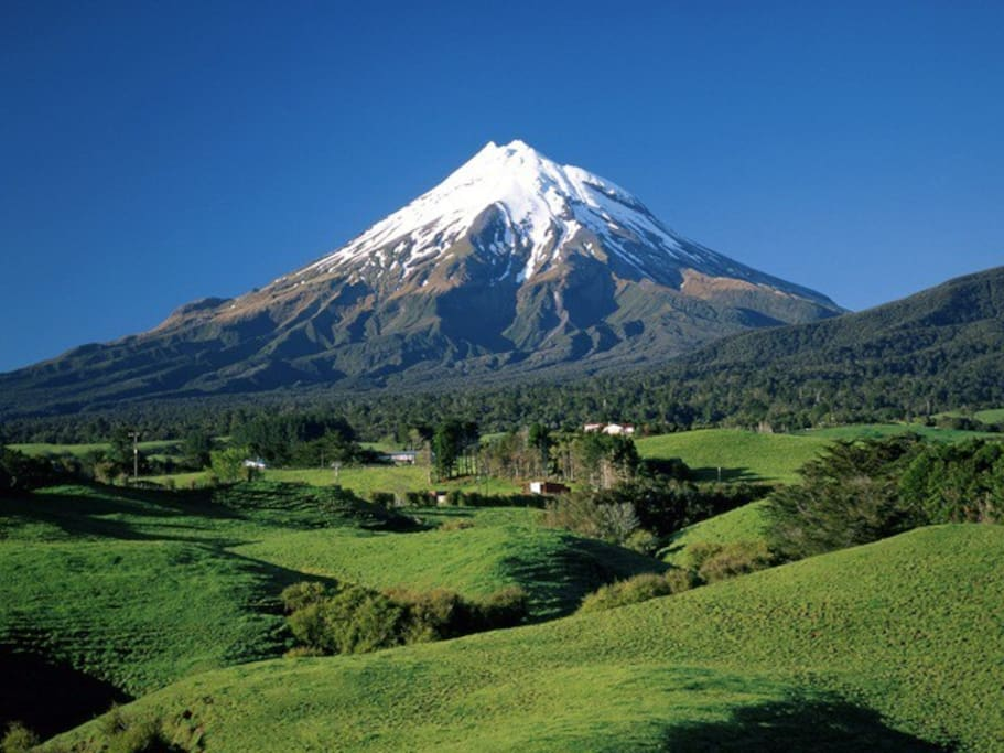 Short drive to Mt Taranaki