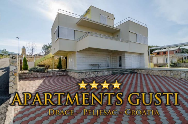 4-stars Apartment (4 bedroom) - Drače - Appartement