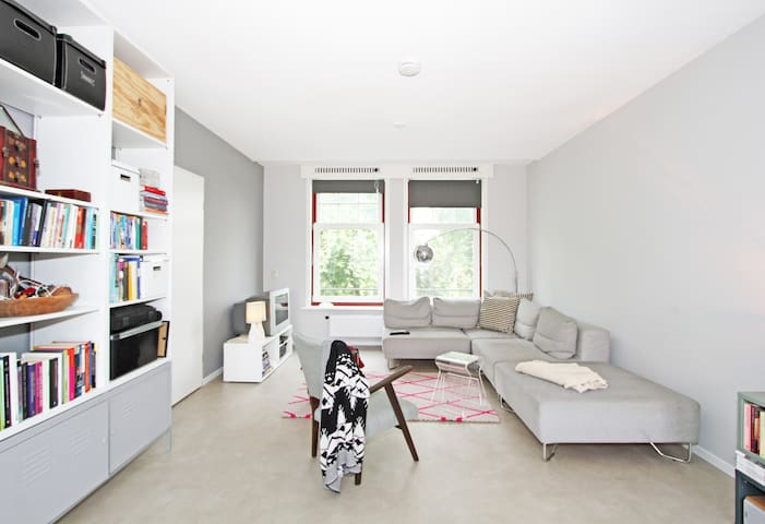 Bright, central, design Apartment w/cosy feel - Amsterdam - Leilighet