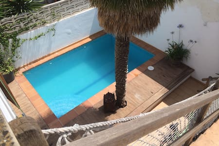 Townhouse 100m from beach w. pool Db - Palma