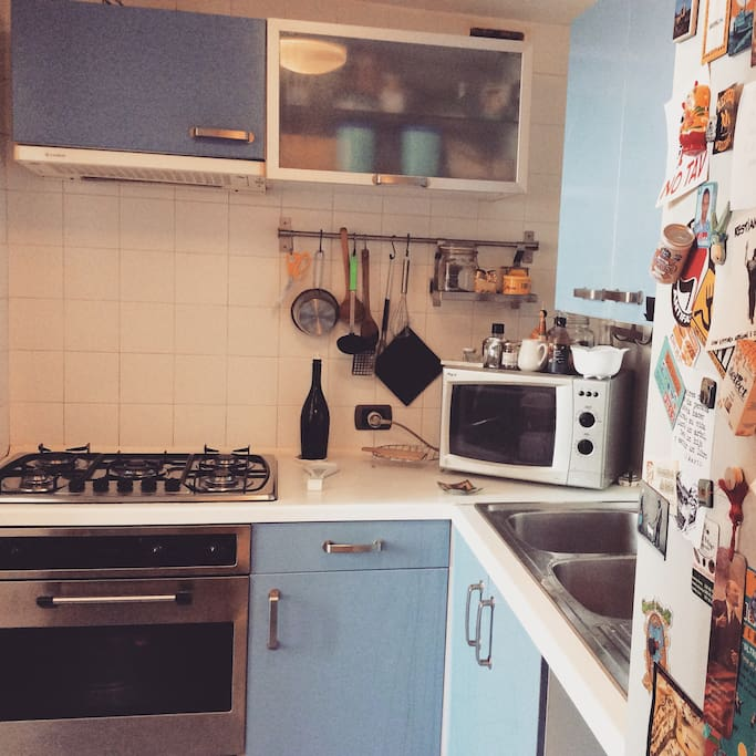 La nostra cucina attrezzata di tutto