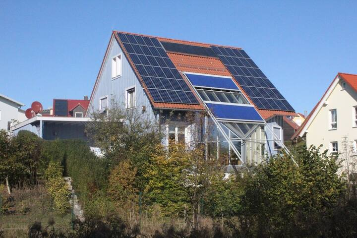 Helles Holzhaus im Weltkulturerbe - Bamberg - Rumah
