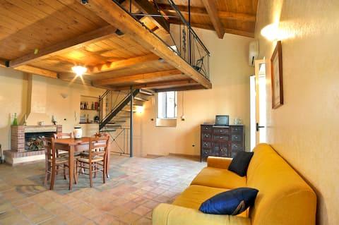 Cozy apartment in historic center's heart