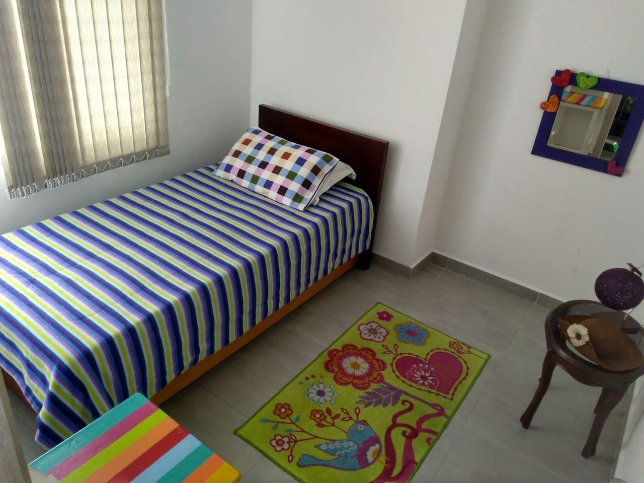 La habitación para nuestros huéspedes.