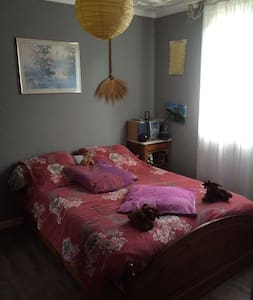Chambre double avec salle de bain - Squiffiec