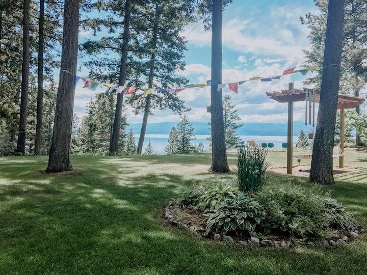 Flathead Lake Serenity - views and access to lake!