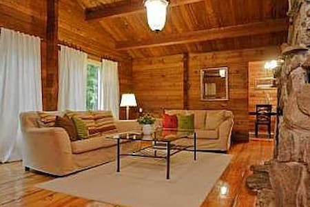 5 Bedrooms - Log cabin in the woods - Uxbridge - Dom