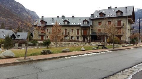Apartamento Benasque con vistas