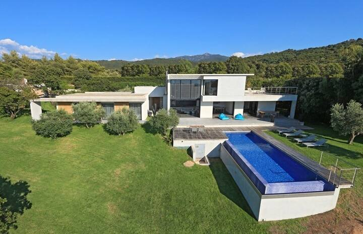 PORTICCIO - Somptueuse villa avec piscine V-290