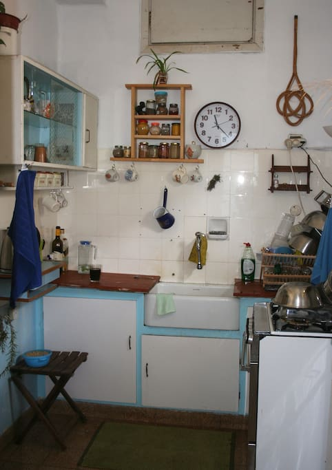 1950's original kitchen