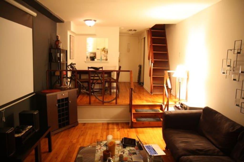 Lofty living space