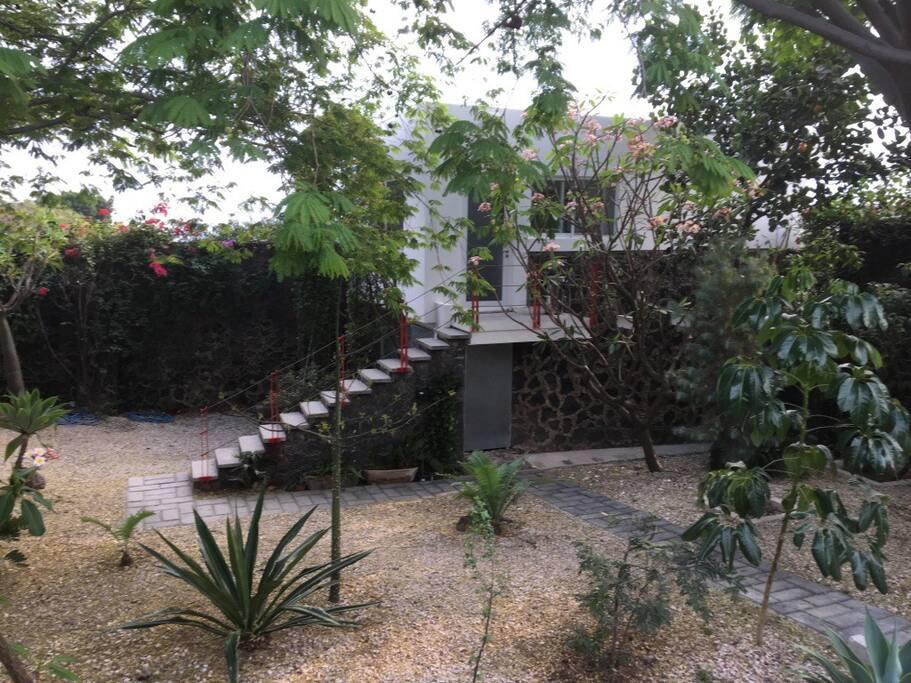 Bugambilia bungalow.
