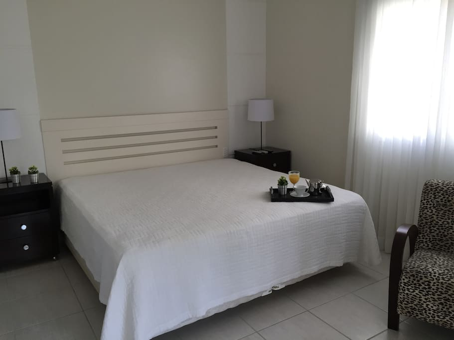 Suite master com cama king size