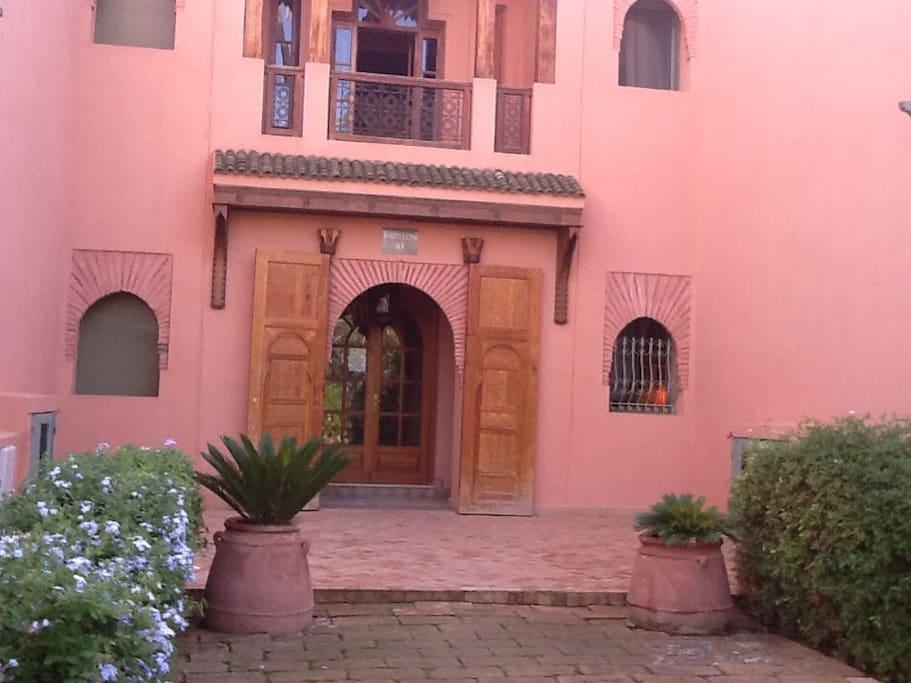 Palmeraie village marrakech appartements louer for Airbnb marrakech