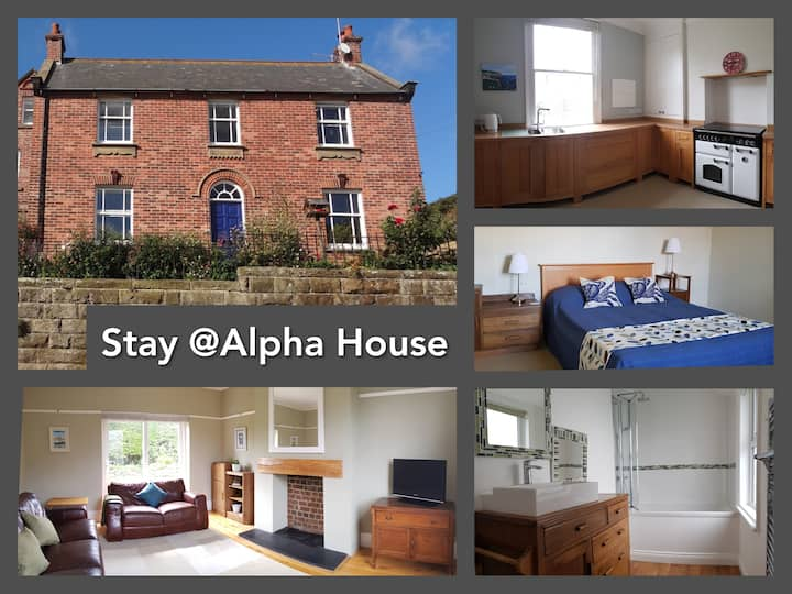 Alpha House: WIFI, study, parking, work while away