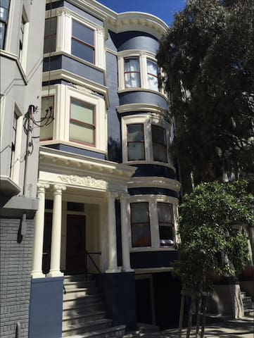 Cozy Victorian in Alamo Square Area